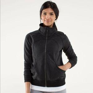 Lululemon Blissed Out Yoga Jacket in Black Size 10